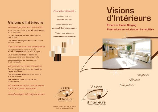 Plaquette De Prsentation Et Cartes Visite