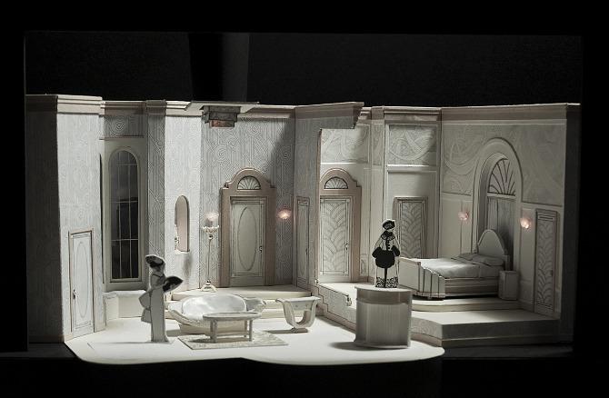 Scenic Design - Jackie Littman :: Design Portfolio