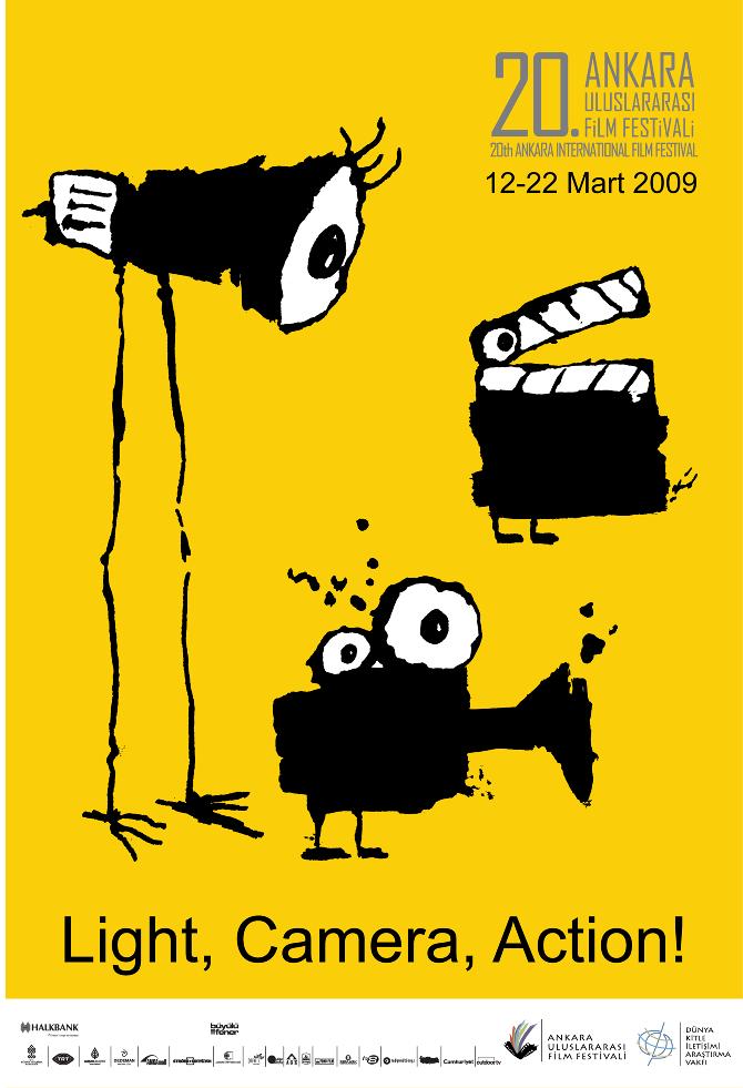 Ankara Film Festival Poster Asliozcivelek