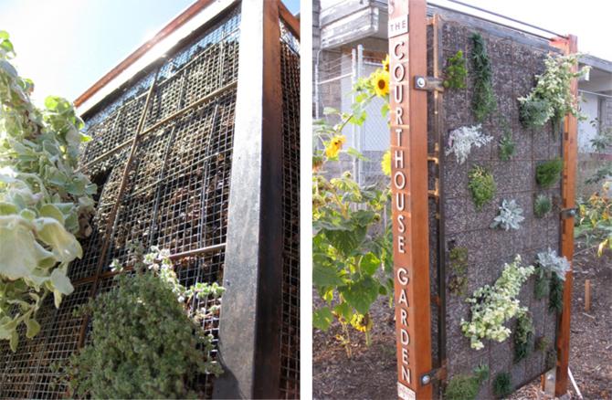 Gabion Wall Design Drawings : Vegetated gabion wall alexandria emilia donati