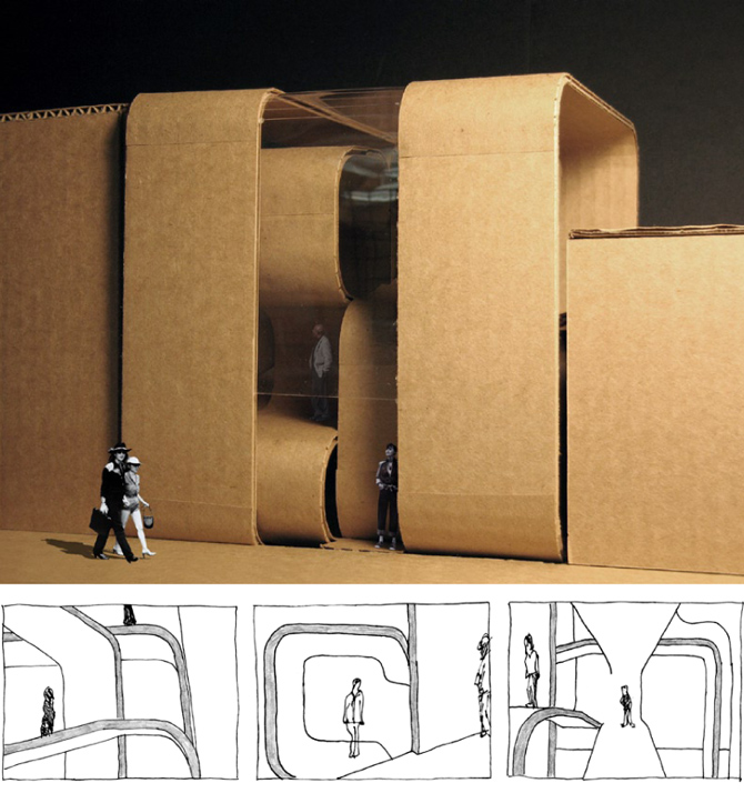 Folding architecture urbanworm design Architecture and design